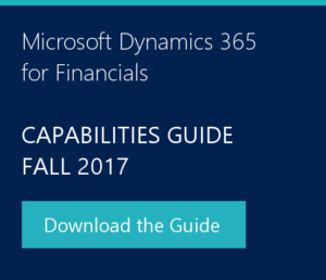 Download Dynamics 365 Capabilities Guide 2017