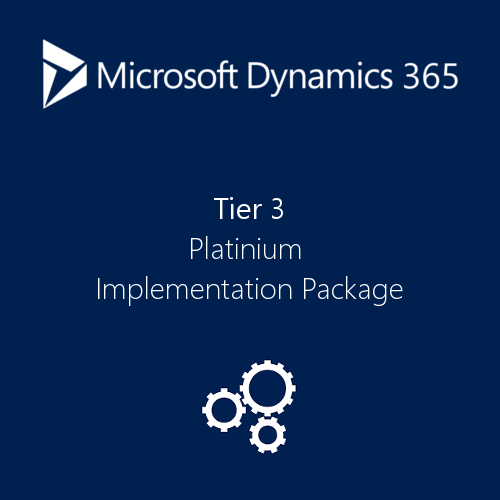 dynamics 365 implementation tier 3
