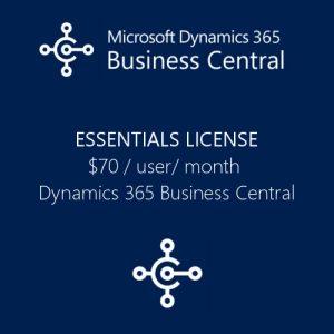 Dynamics 365 Business Central Essentials License