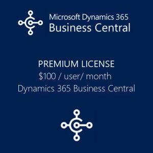Dynamics 365 Business Central Premium License