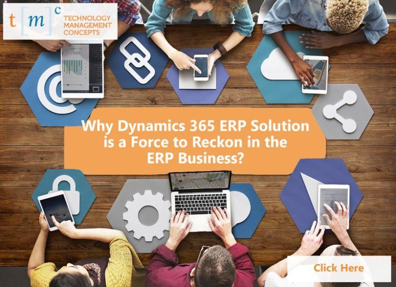 Dynamics 365 ERP Solution