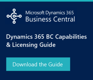 dynamics 365 business central new capabilities and licensing guide