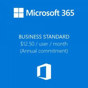 Microsoft 365 Business Standard License