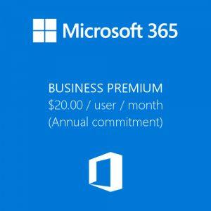 Microsoft 365 Business Premium License