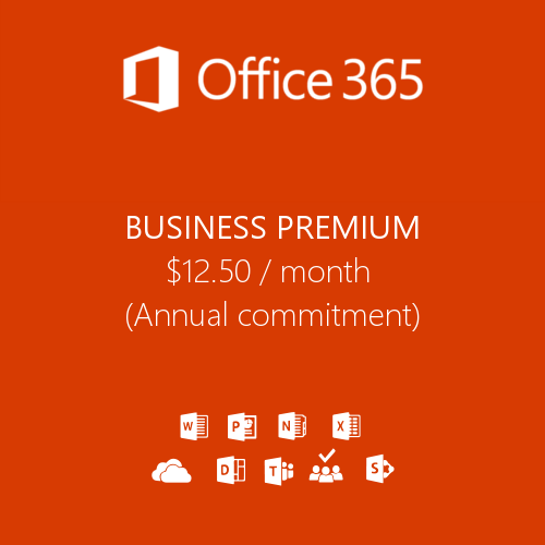 Office 365 Business Premium product