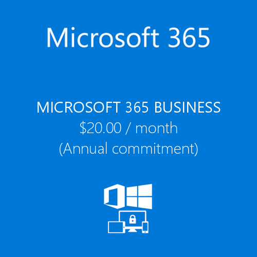 Office 365 Microsoft 365 Business product