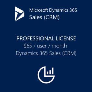Dynamics 365 Sales (CRM) Professional License